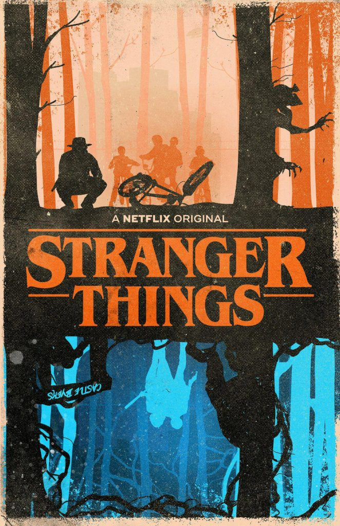 Stranger Things Upside Down poster