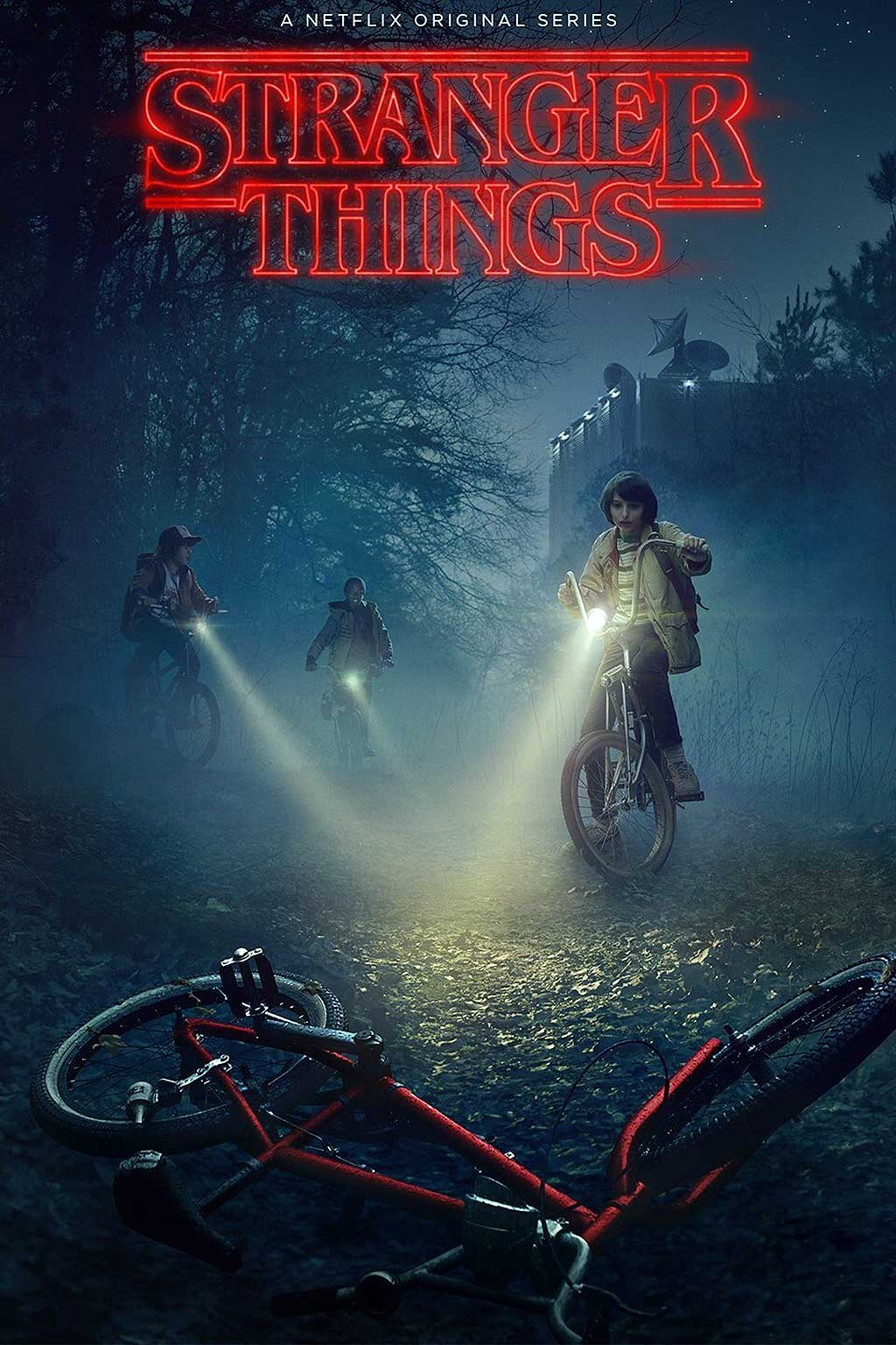 Stranger Things poster searching Will