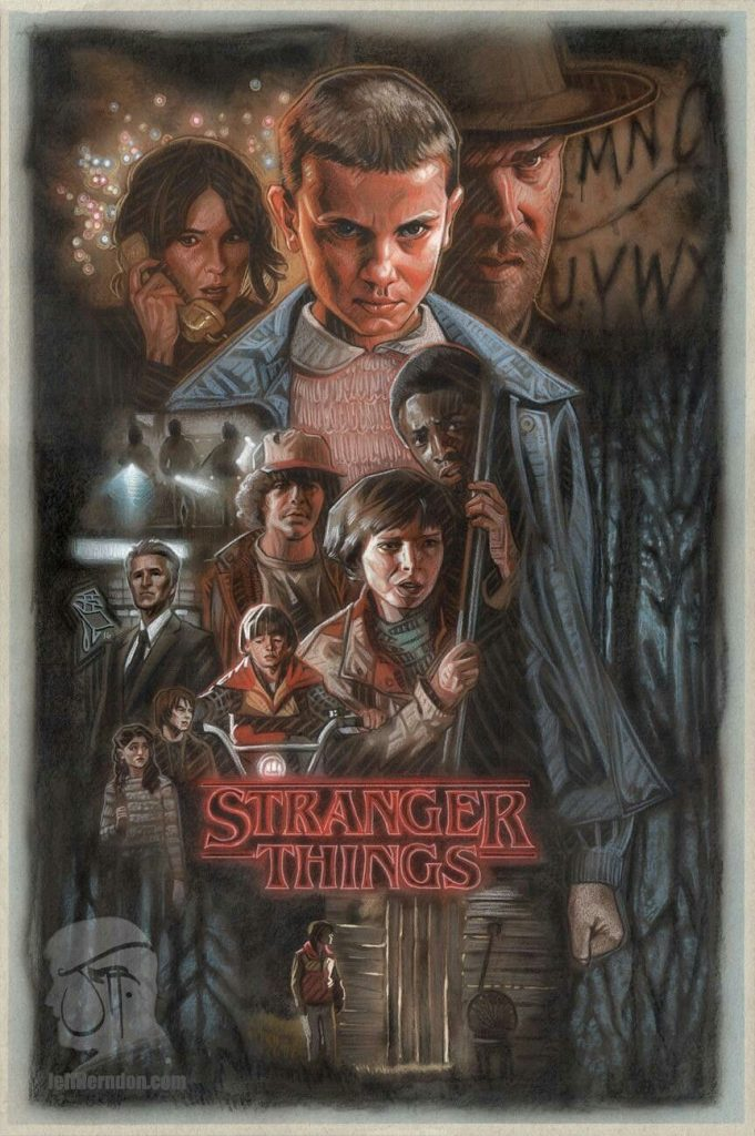 Stranger Things poster season2