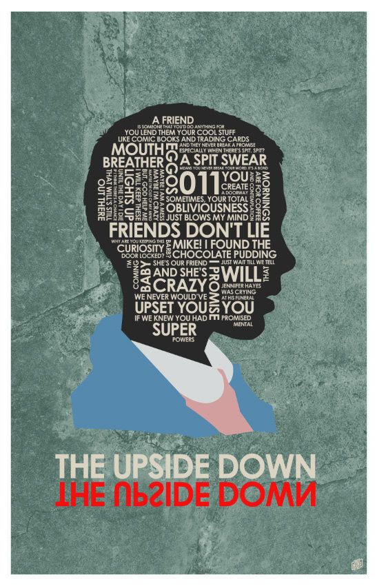 Stranger Things poster Quotes
