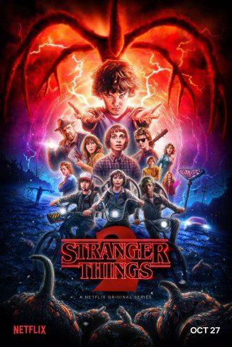 Stranger Things poster Season 2
