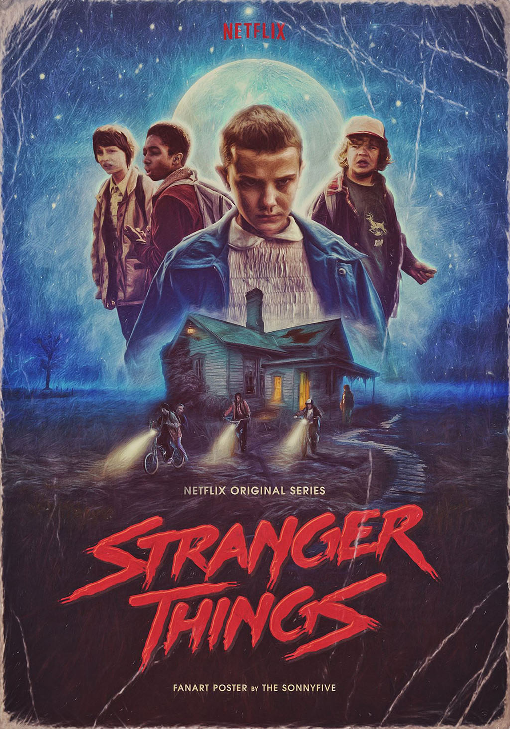 Stranger Things official poster
