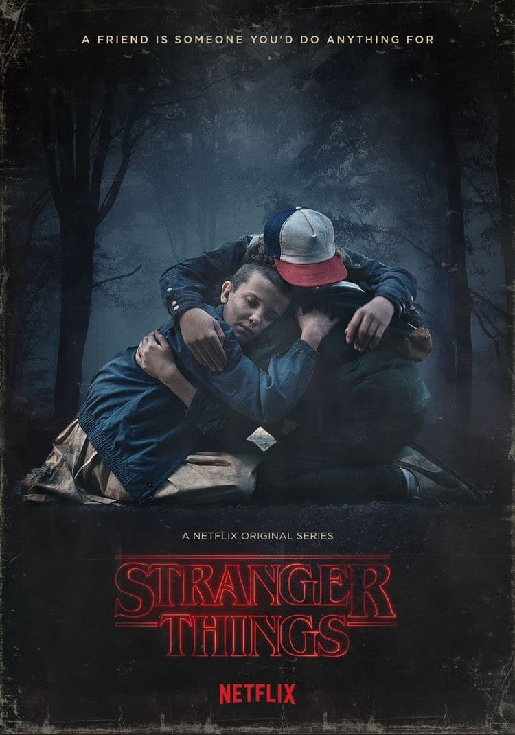 Stranger Things poster scary