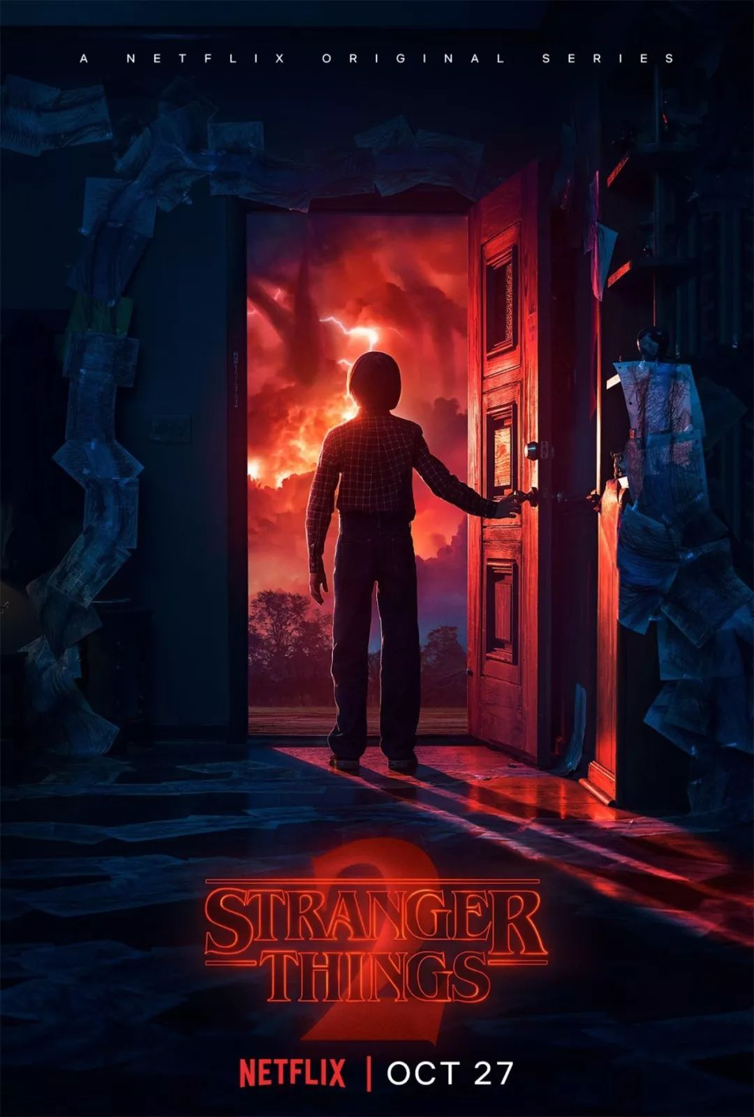 Stranger Things poster alternate dimension