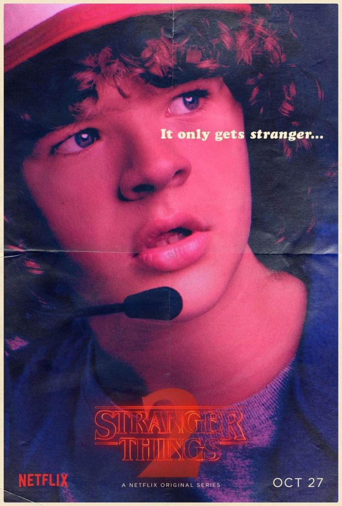 Stranger Things Dustin Henderson poster