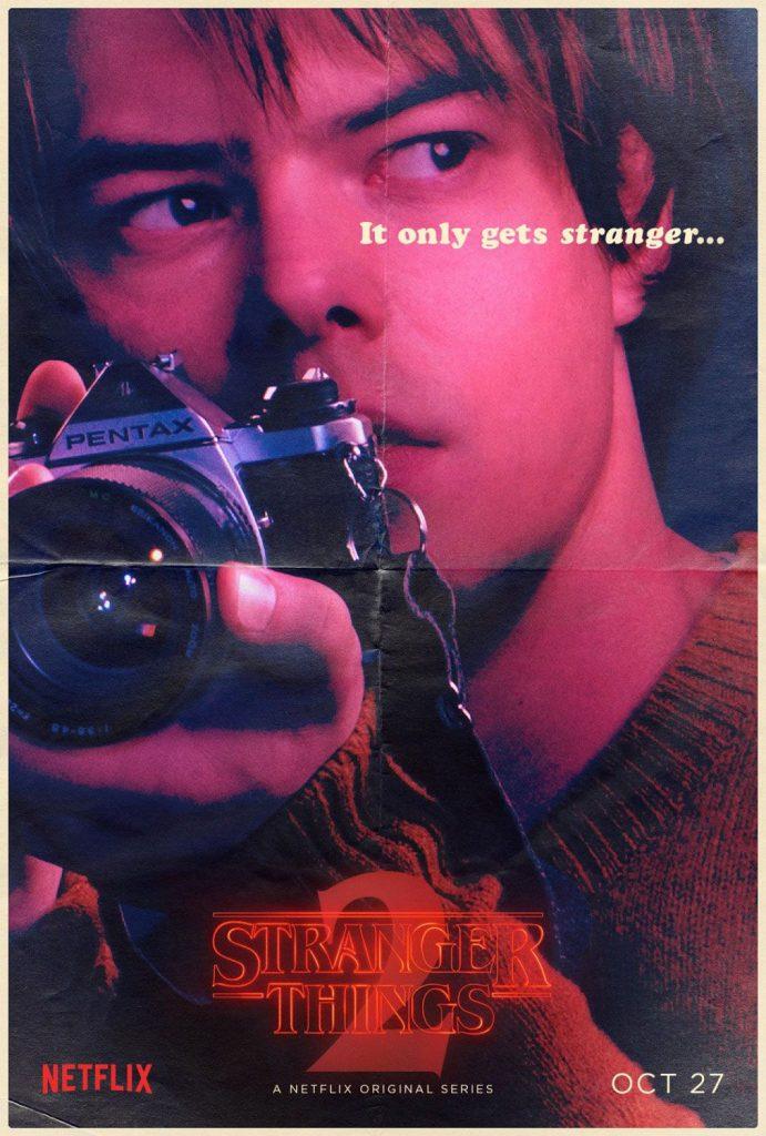 Stranger Things Jonathan Byers poster