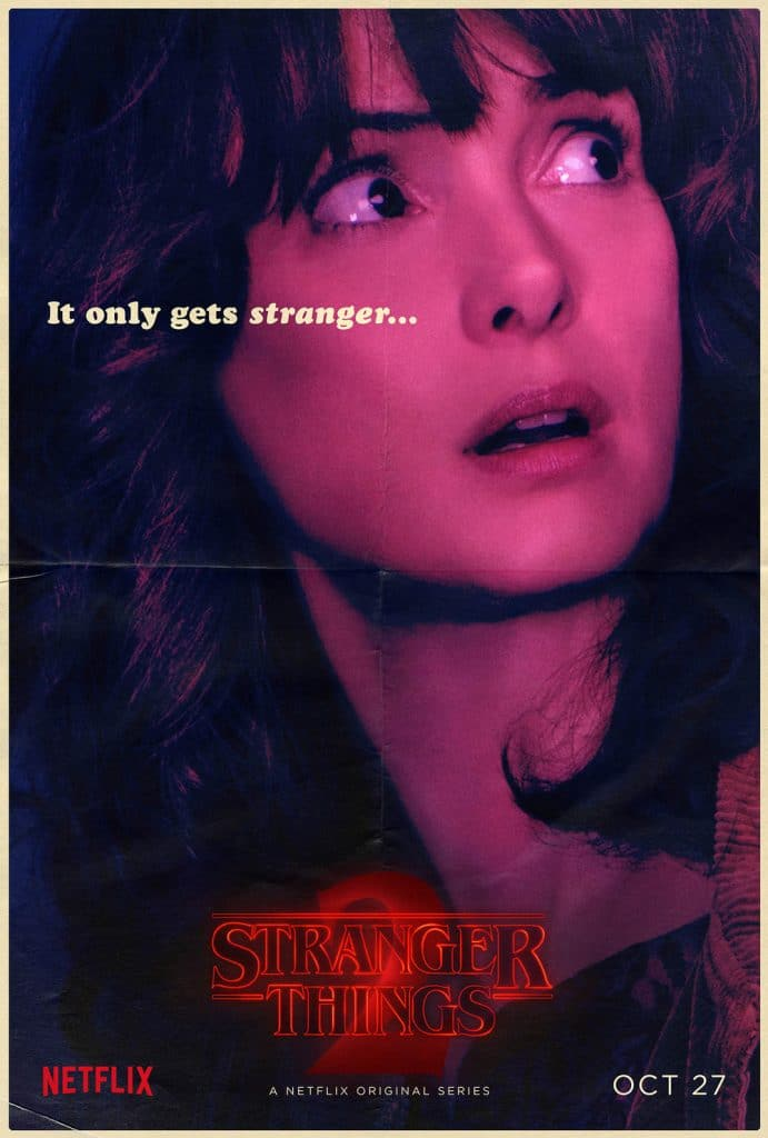 Stranger Things Joyce Byers poster