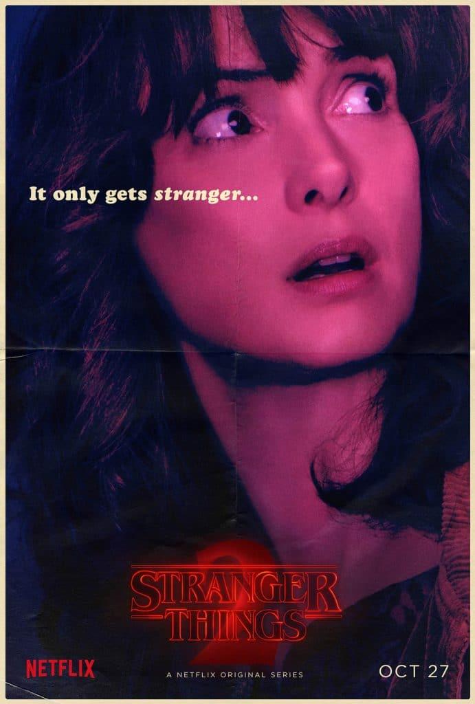 Stranger Things Joyce Byers poster