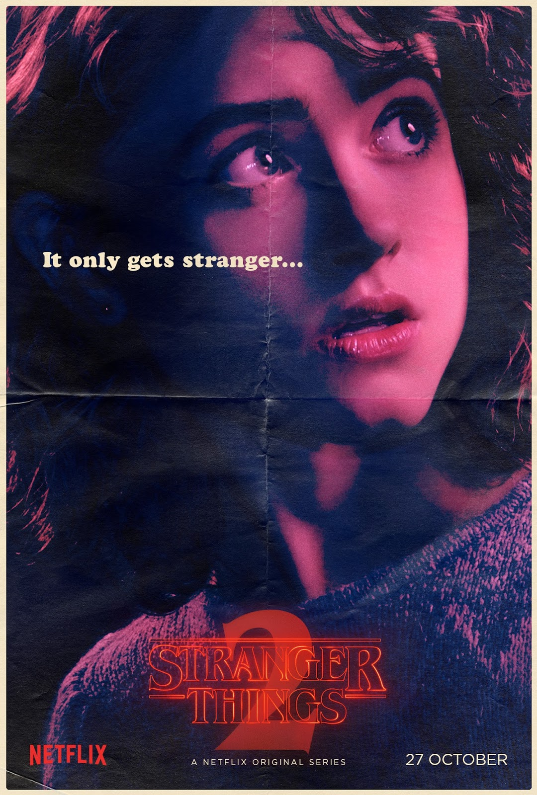 Stranger Things Nancy Wheeler poster