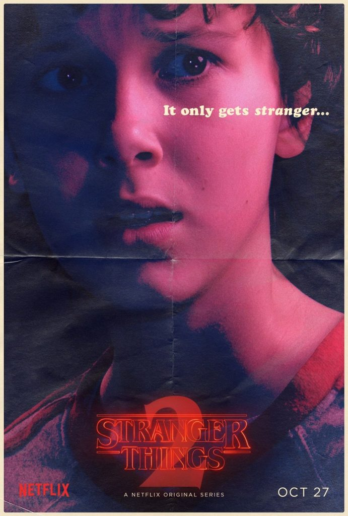 Stranger Things Eleven poster