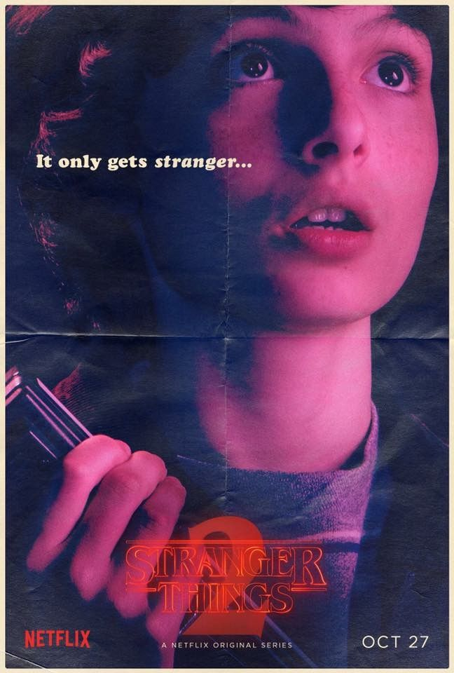 Stranger Things Mike Wheeler poster