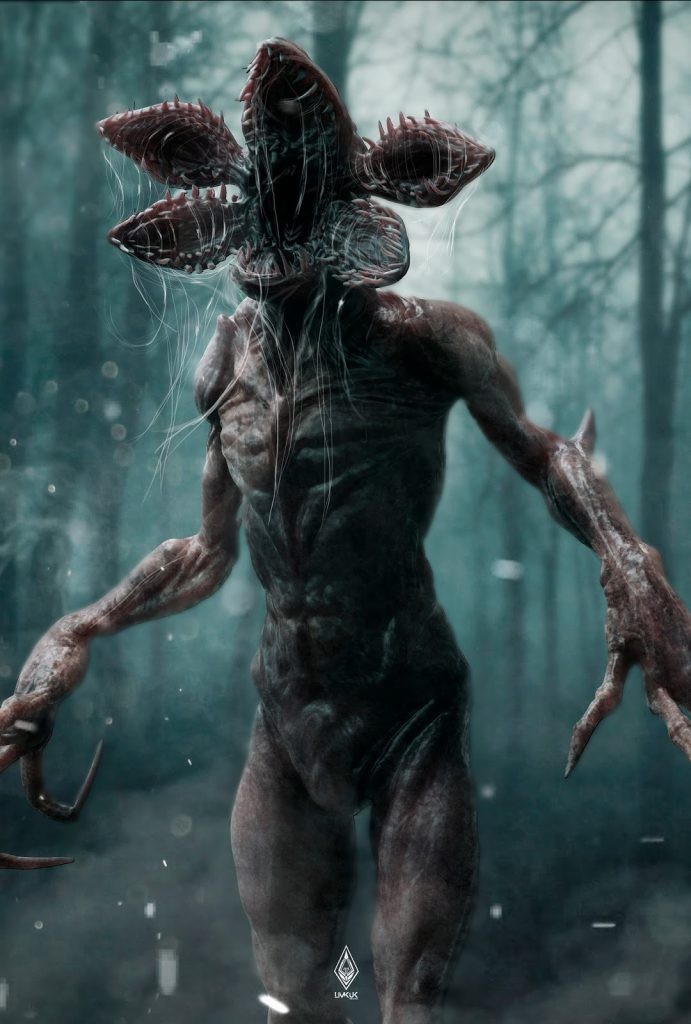 Stranger Things Demogorgon monster poster