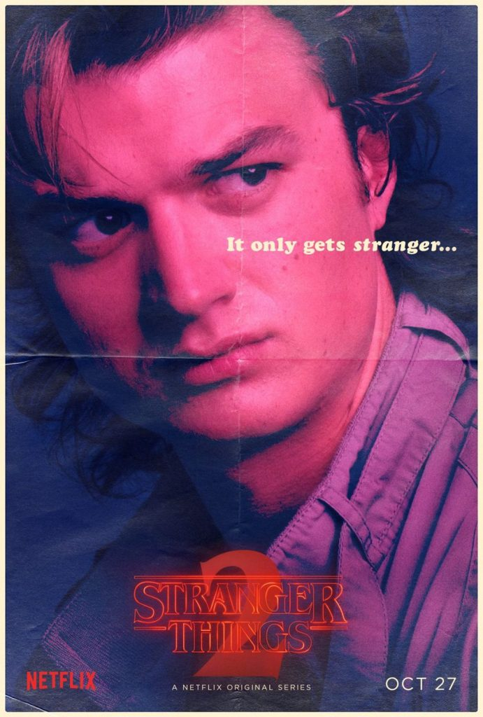 Stranger Things Steve Harrington poster