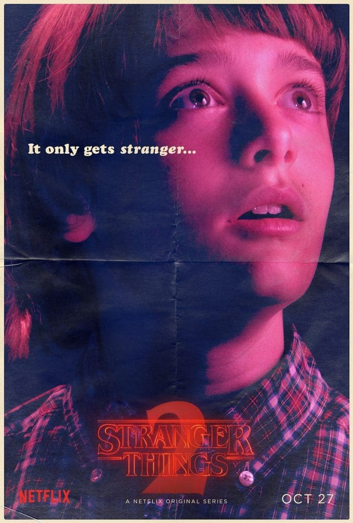 Stranger Things Will Byers poster