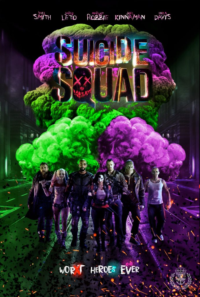 suicide squad hd printable Poster wallpaper whole squad full team all characters