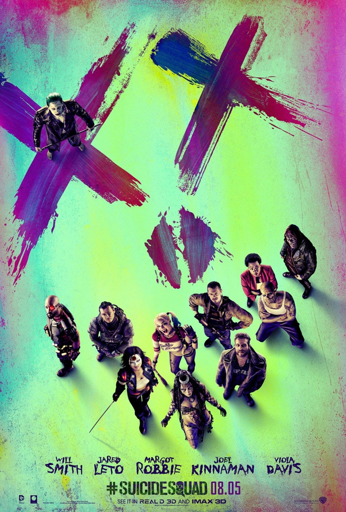 suicide squad hd printable Poster wallpaper all characters cool poster