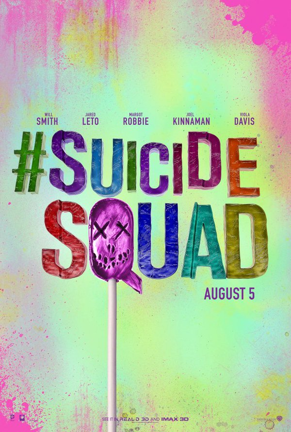 suicide squad hd printable Poster wallpaper suicide squad colourful poster