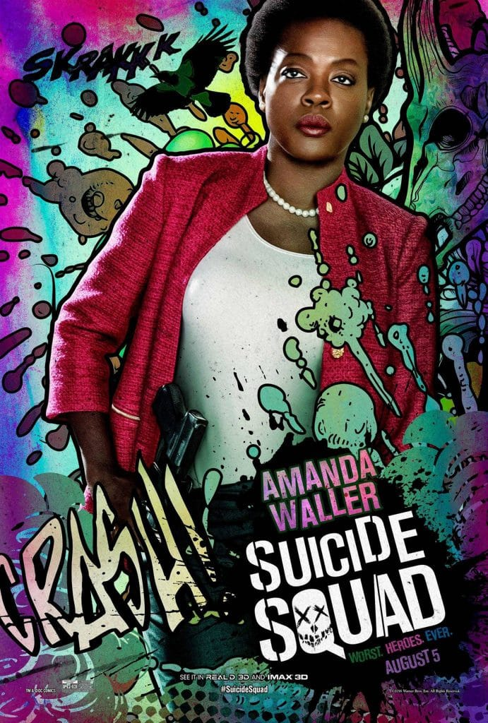 suicide squad hd printable Poster wallpaper amanda waller animated art poster official government agent