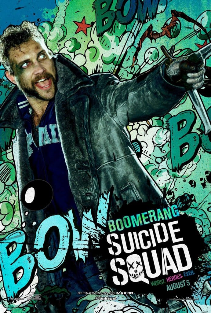 suicide squad hd printable Poster wallpaper captain boomerang