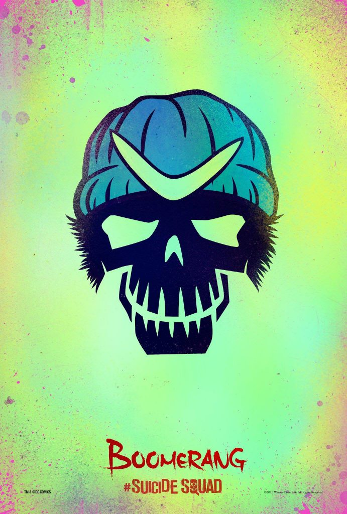 suicide squad hd printable Poster wallpaper captain boomerang cartoon animation art