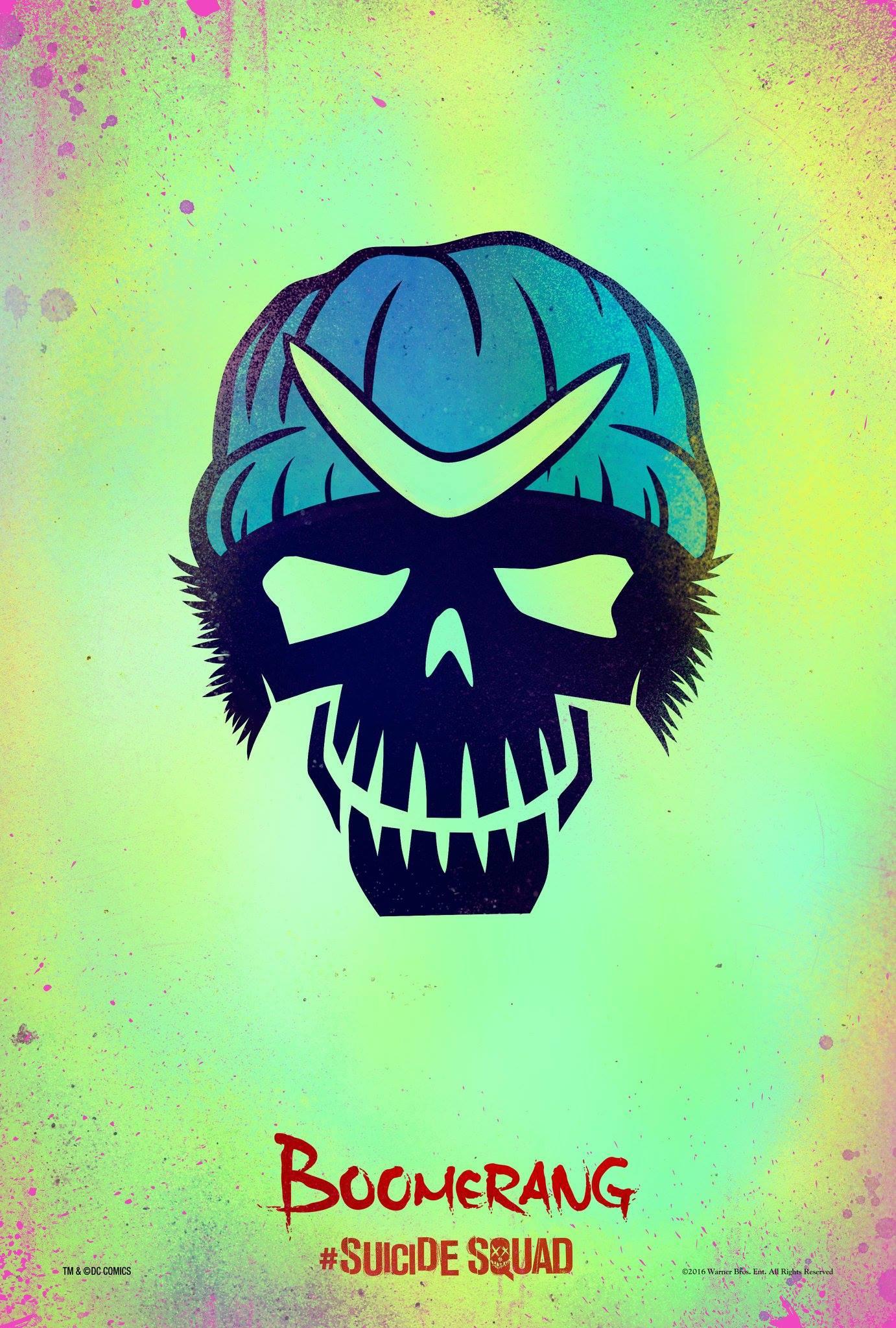 suicide squad hd printable Poster wallpaper captain boomerang cartoon animation art