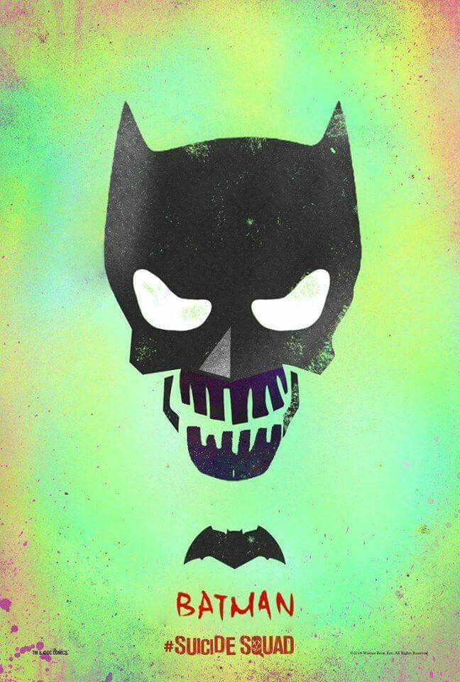 suicide squad hd printable Poster wallpaper batman art animated cartoon
