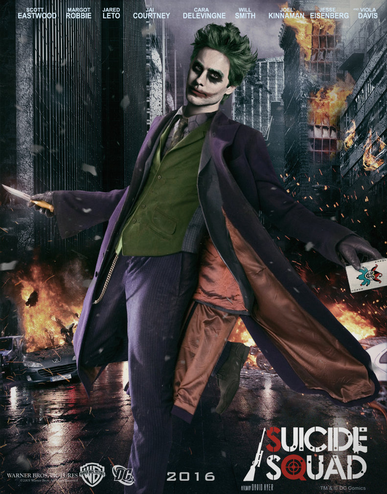 suicide squad hd printable Poster wallpaper joker in style jared leto new joker