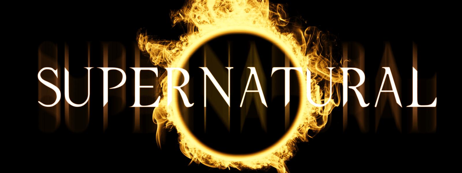Supernatural title poster