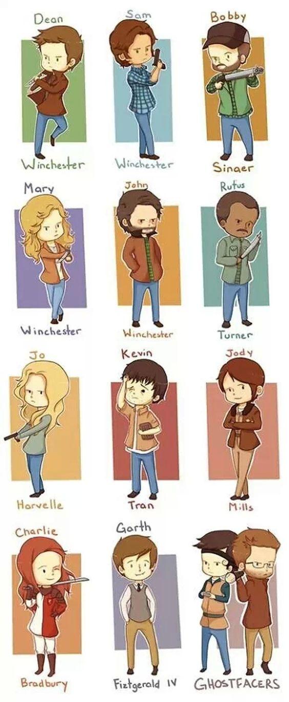 Supernatural poster comic