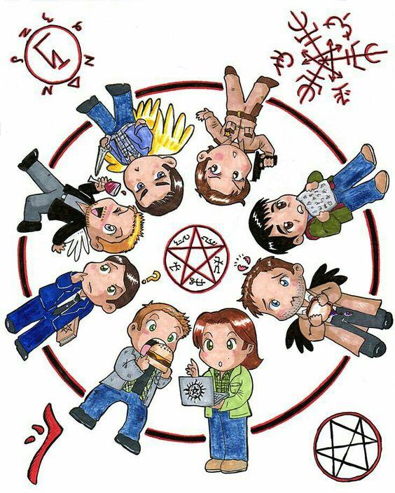 Supernatural Poster cute