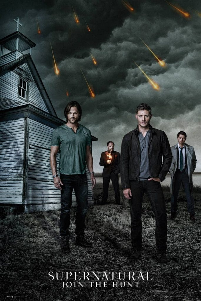 Supernatural hunting poster