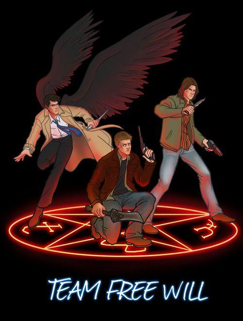Supernatural Devil's trap poster