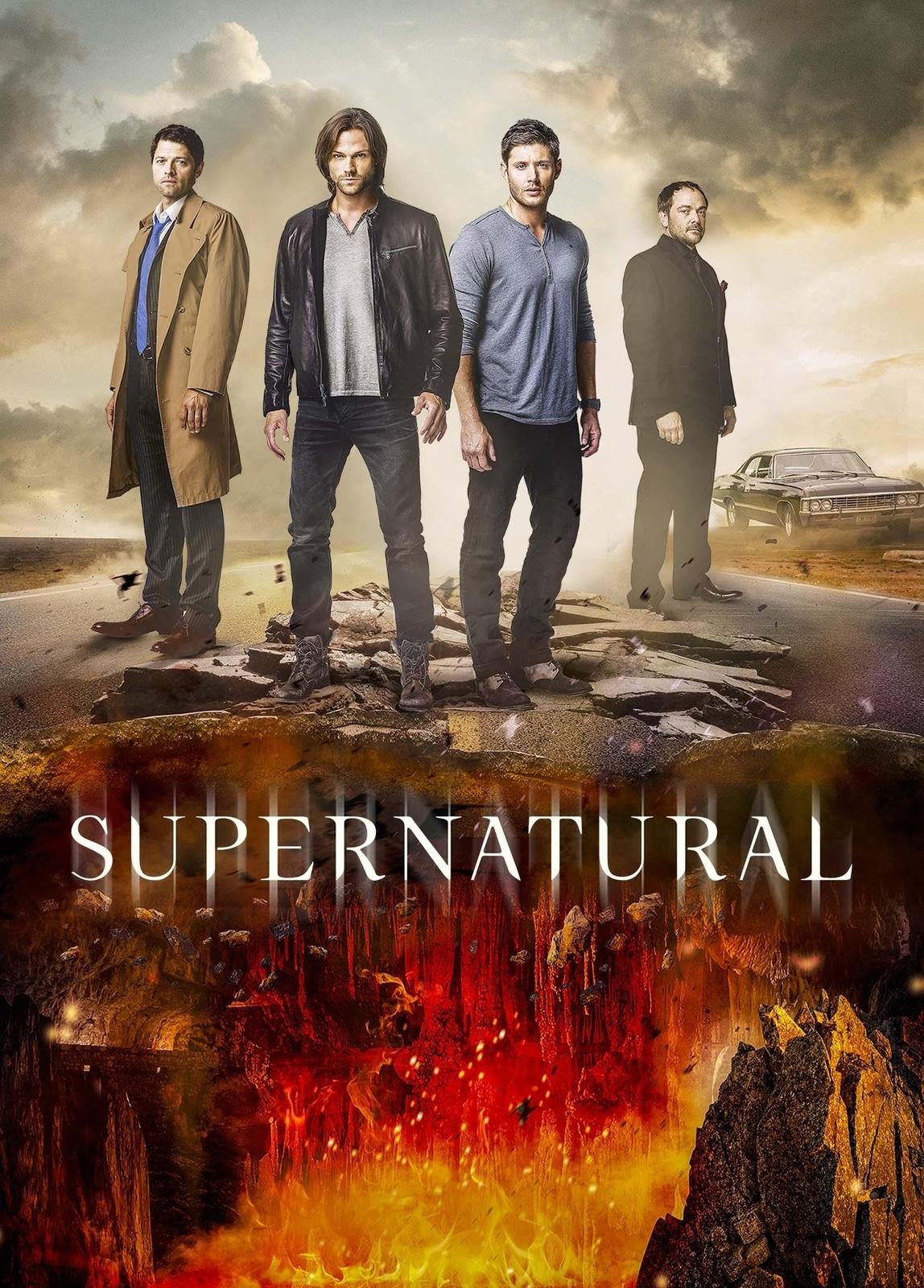 Supernatural cast poster