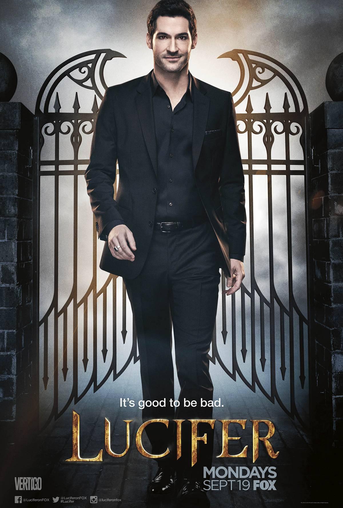 Supernatural Lucifer poster