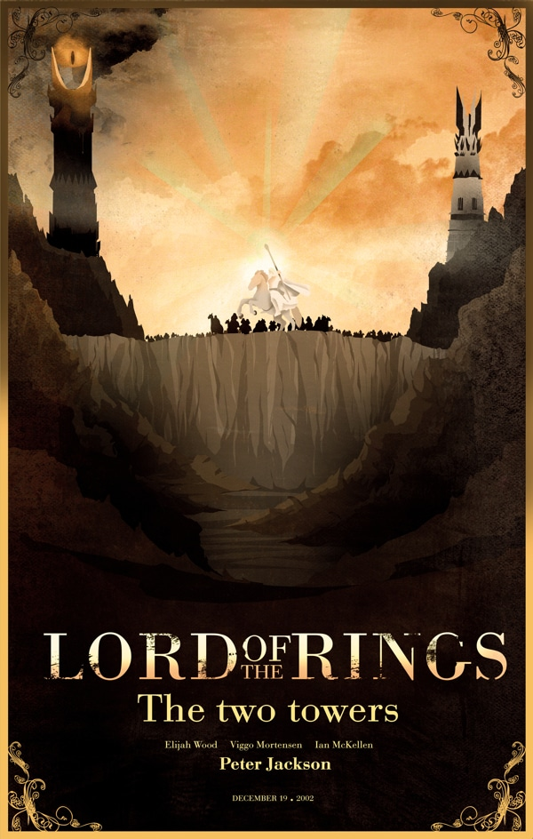 the lord of the rings poster part 3 2003 the return of the king high quality HD printable wallpapers animated cartoon art