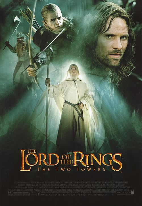 the lord of the rings 1 2002 the two towers high quality HD printable poster gandalf the white all characters posters