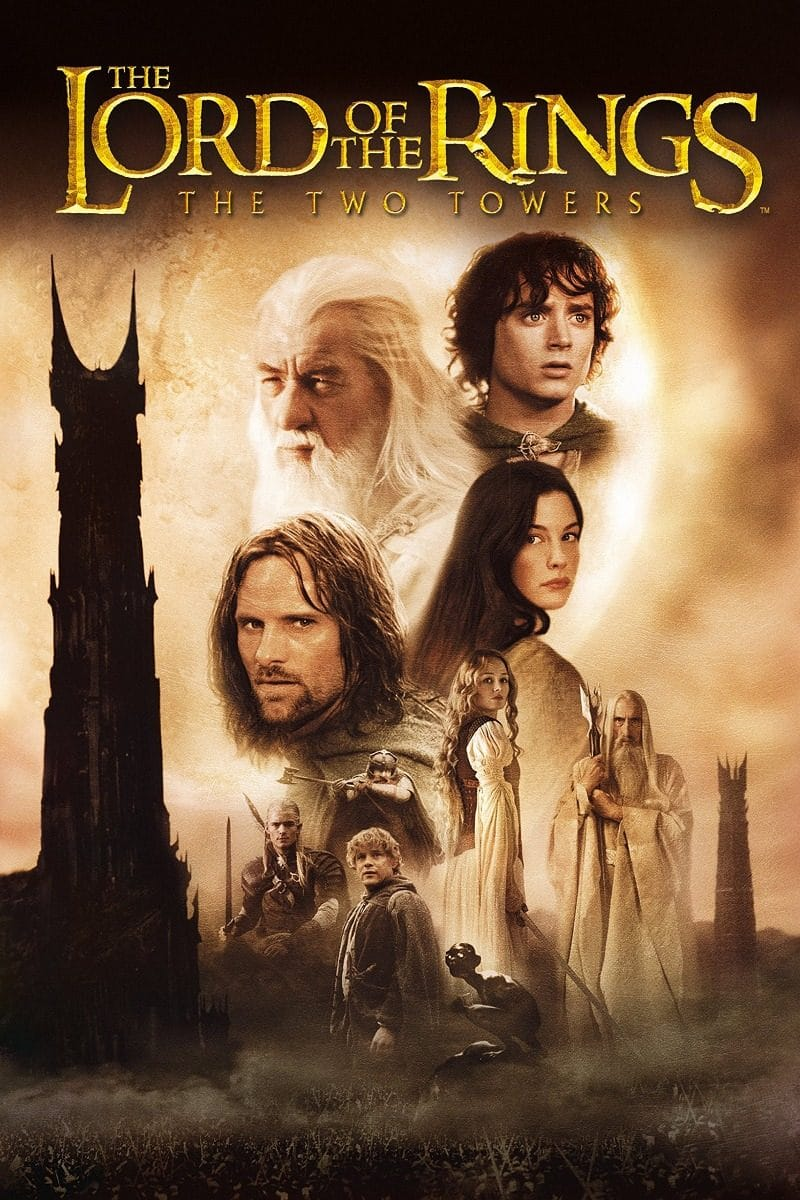 the lord of the rings 1 2002 the two towers high quality HD printable poster official posters