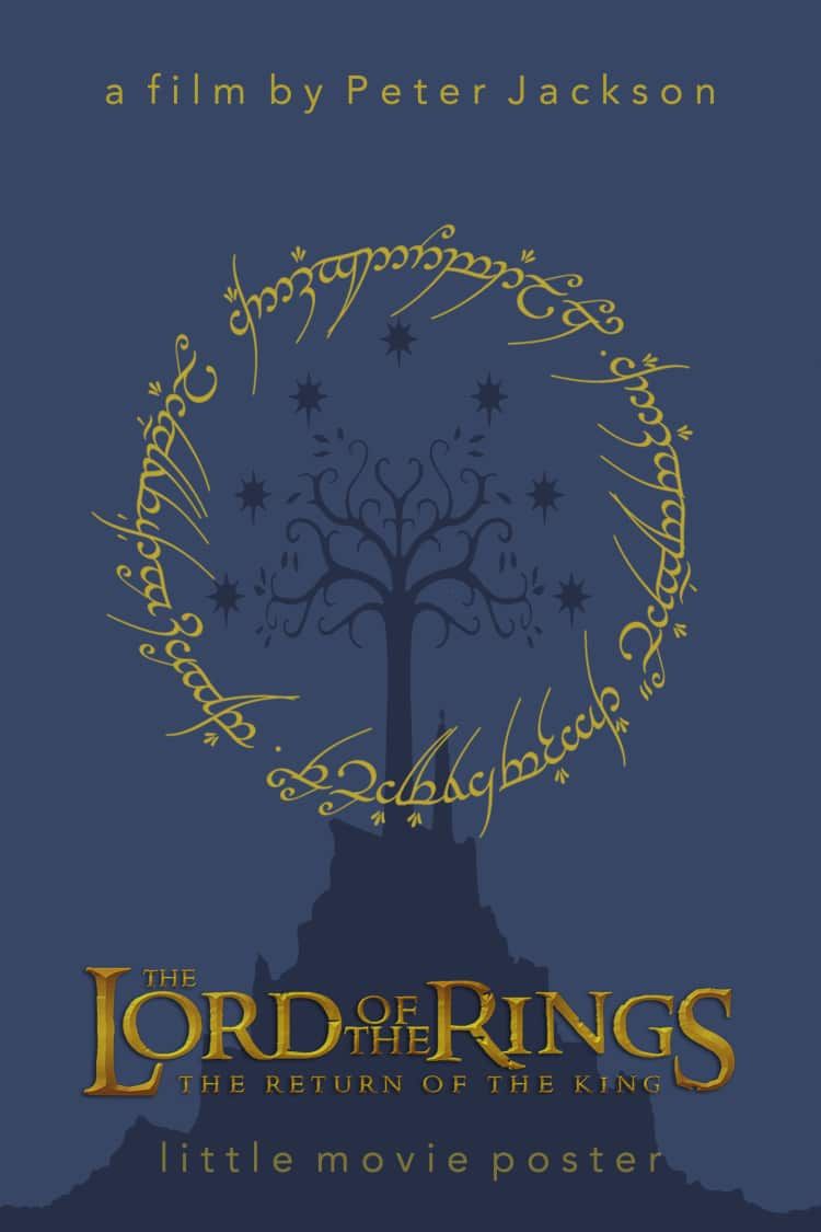 the lord of the rings poster part 3 2003 the return of the king high quality HD printable wallpapers blue mount doom yellow