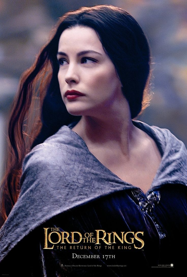 the lord of the rings poster part 3 2003 the return of the king high quality HD printable wallpapers heroin female characters arwen
