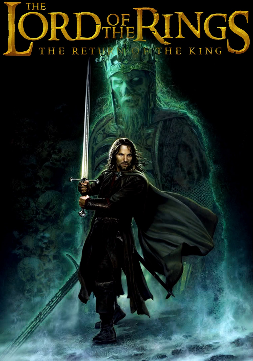 the lord of the rings poster part 3 2003 the return of the king high quality HD printable wallpapers ghost pirate the army of dead