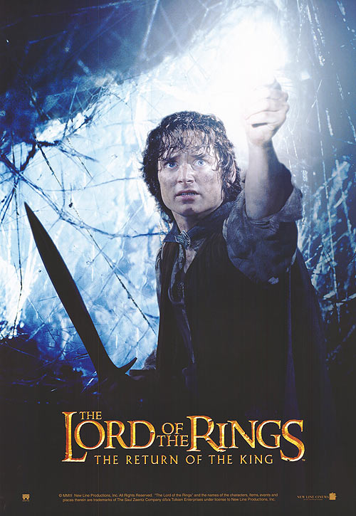 the lord of the rings poster part 3 2003 the return of the king high quality HD printable wallpapers frodo baggins big spider