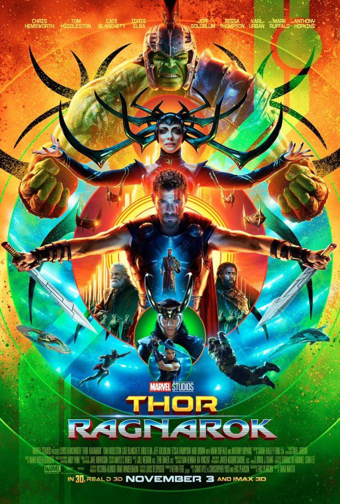 Thor Ragnarok Poster Collection