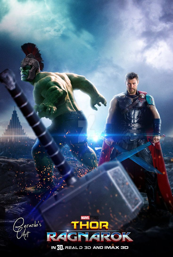 Thor-Ragnarok-HD-printable-posters-Thor-hammer-mjorlnir