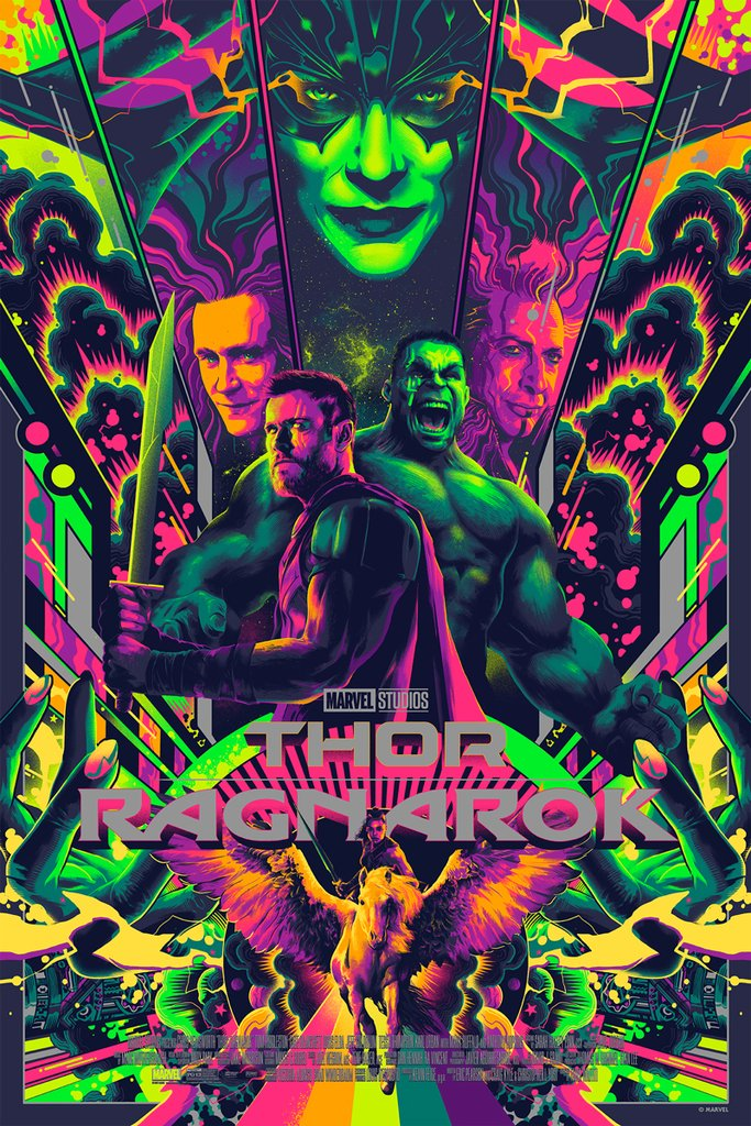 Thor-Ragnarok-HD-printable-posters-green-best-cartoon-animated-poster