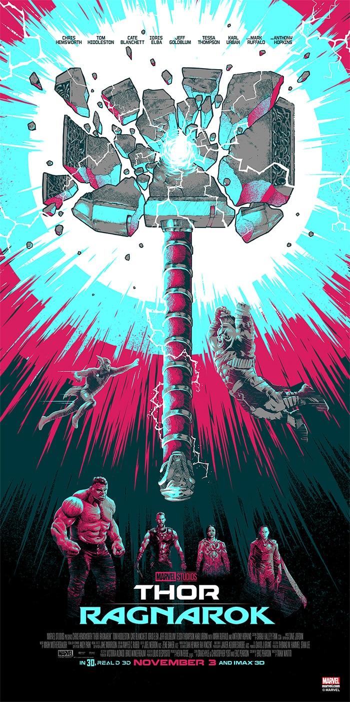 Thor-Ragnarok-HD-printable-posters-thor-hammer-mjolnir-broken
