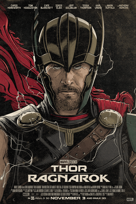 Thor-Ragnarok-HD-printable-posters-best-animated-cartoon-thor-poster