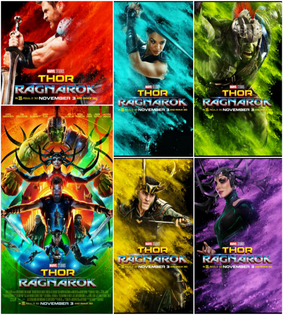 Thor-Ragnarok-HD-printable-posters-collage-of-all-characters