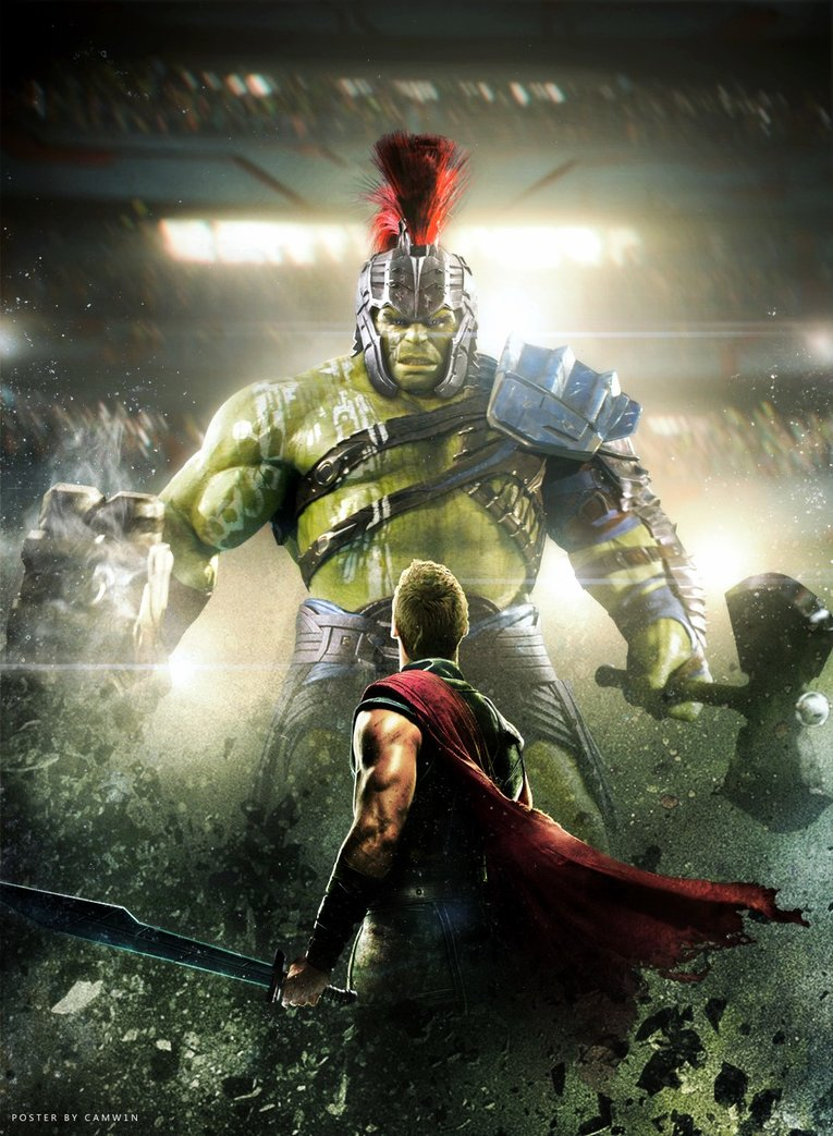 Thor-Ragnarok-HD-printable-posters-hulk-and-thor