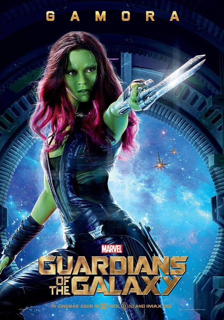 Guardian-of-the-galaxy-high-quality-printable-posters-wallpapers-gamora-zoe-saldana
