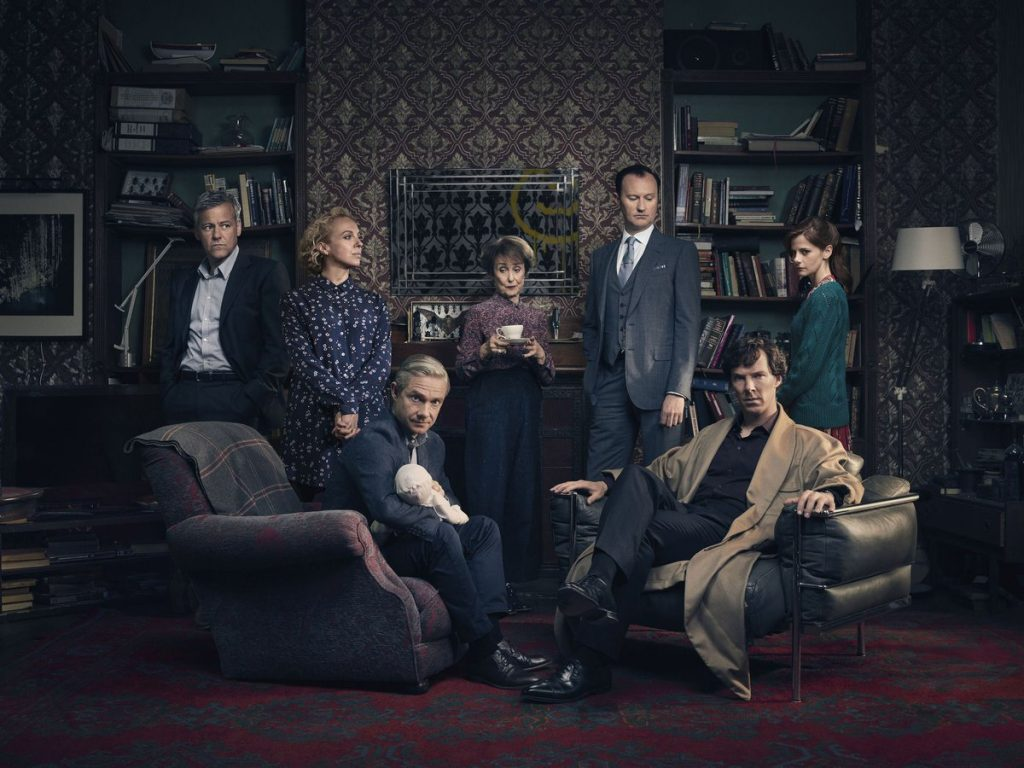 Sherlock cast poster